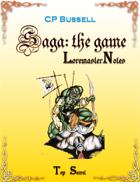 Saga: the Game Loremaster Notes wtg