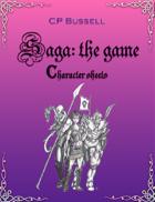 Saga: the Game Character Sheets ptp