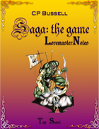 Saga: the Game Loremaster Notes gtp