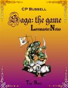 Saga: the Game Loremaster Notes gtp