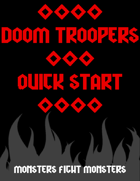 Doom Troopers: Quick Start