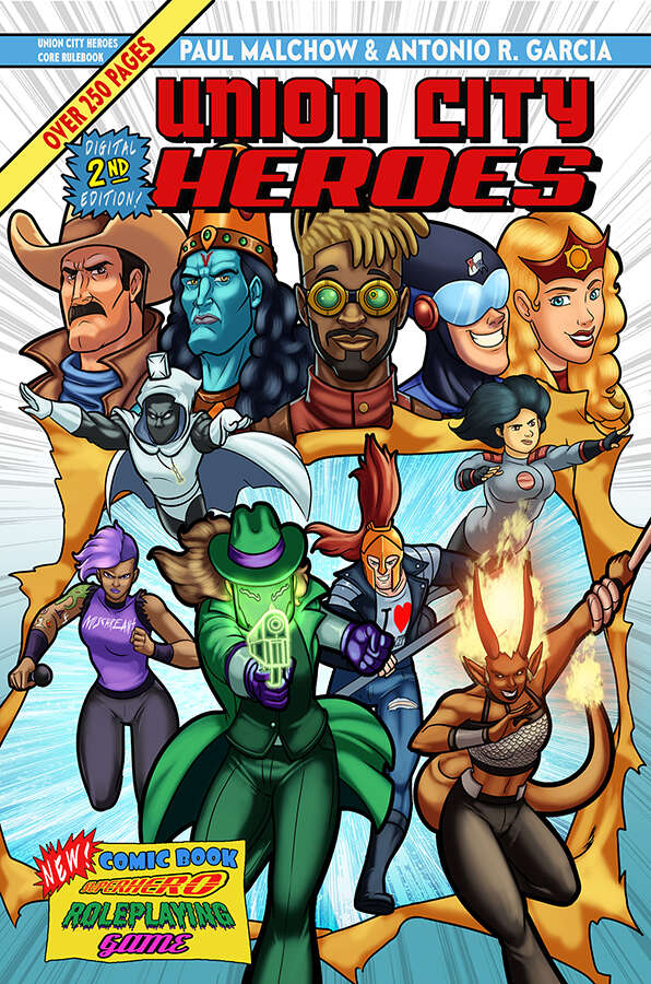 Union City Heroes Digital First Edition