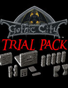 Rocket Pig Games GOTHIC CITY (featuring TILESCAPE 2.0) Trial Pack