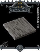 Rocket Pig Games GOTHIC CITY Wood Floor Tile (Tilescape 2.0)