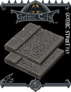 Rocket Pig Games GOTHIC CITY Street Tiles (Tilescape 2.0)