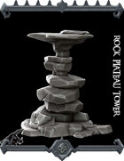 Rock Plateau Tower (KICKSTARTER ends tonight)