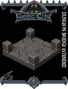 GOTHIC CITY Bridge Tile - JOIN OUR Monster Miniature PATREON