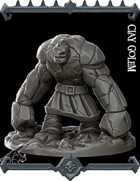 Clay Golem Miniature   (Join our PATREON)