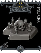 Gothic City Skull Altar - (Join our PATREON)
