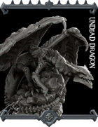 Undead Dragon model kit (Join our PATREON)
