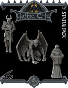Statue Pack - Gothic City (Join our PATREON)