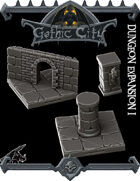 Dungeon Expansion Gothic City - (Join our PATREON)