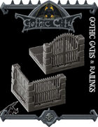Gothic City Gates & Railings - (Join our PATREON)