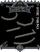 Gothic City Trim Pack - (Join our PATREON)