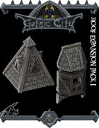 Gothic City Roof Expansion I - (Join our PATREON)