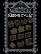 Gothic City Buildings Core (TILESCAPE 2.0)