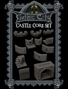 Gothic City Castle Core (TILESCAPE 2.0)