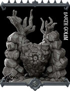 Earth Golem Miniature - (Join our PATREON)