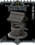 Gothic City Props Pack I - (Join our PATREON)