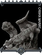 Cavern Serpent Miniature  -  (Join our PATREON)