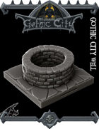 The Gothic City Well - (Join our PATREONs)