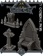 Cathedral Props Pack - (Join our PATREON)