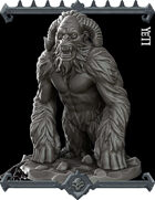 The Yeti Miniature  -  (Join our PATREON)
