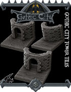 Gothic Tower Tiles - (Join our PATREONs)