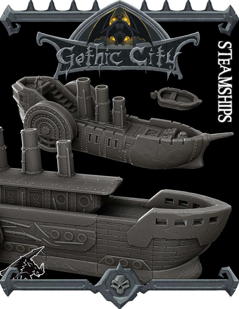 Gothic Steamships - (Join our PATREON)