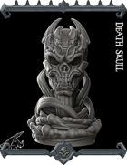 Death Skull Miniature -  (Join our PATREON)