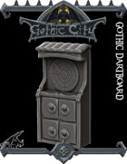 Gothic City Dartboard (JOIN our PATREON)