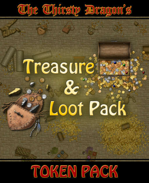 The Thirsty Dragon's: Treasure & Loot Pack