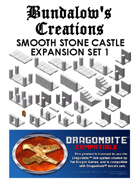Smooth Stone Castle Tiles - Expansion Set 1
