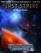 First Strike - Starfinder Adventure
