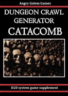 D&D DUNGEON GENERATOR - CATACOMB