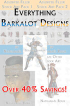 Everything Barkalot Designs RPG Stock Art [BUNDLE]