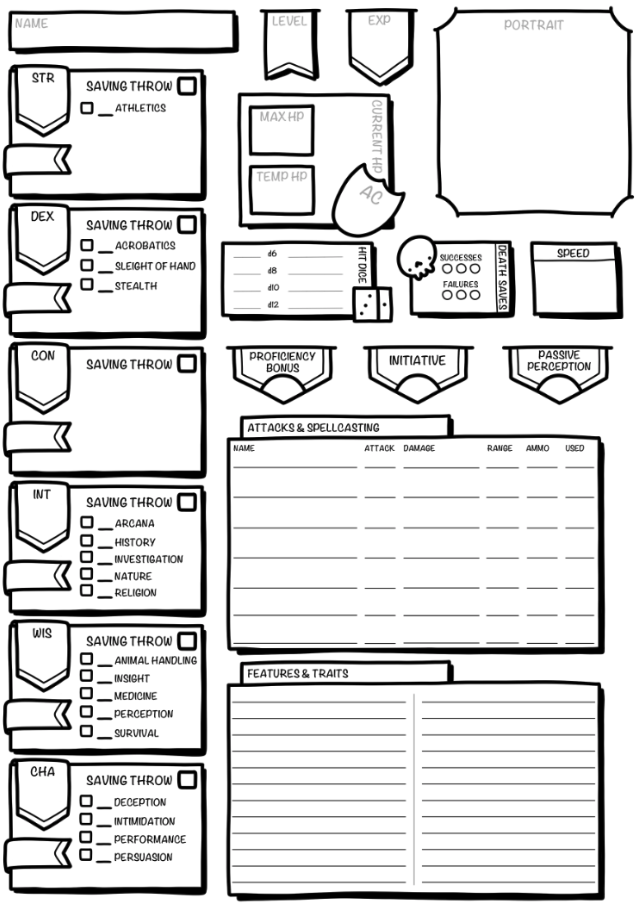 It's just a graphic of Tactueux D&d 3.5 Character Sheet Printable