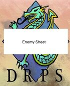 DRPS Enemy Sheet