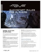 Afterverse Quickstart Rules