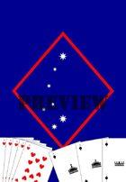MEU KAOS deck of playing cards