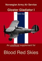 NoAAS Gloster Gladiator I