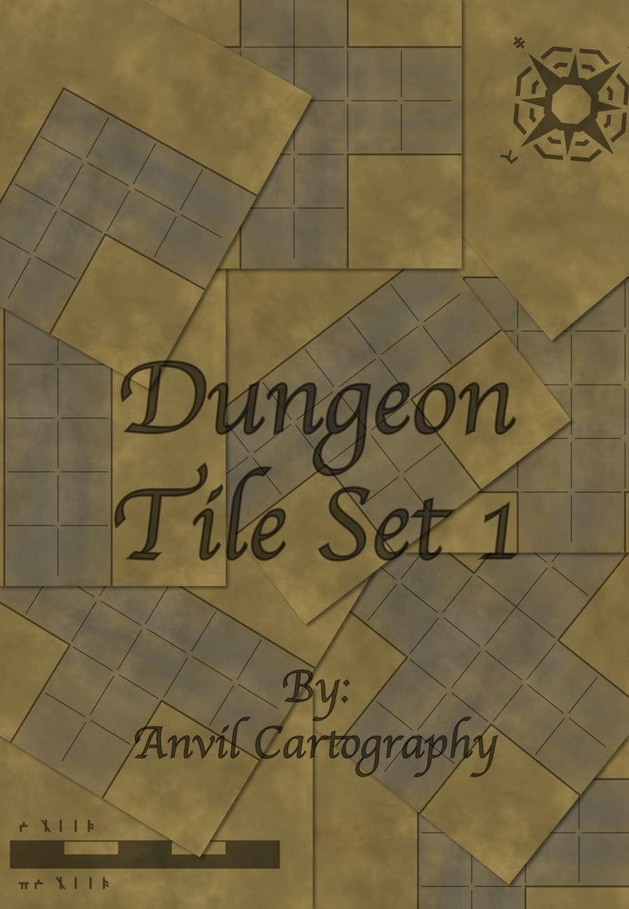 Dungeon Tile Set 1 - Talion Games | RPG Map Tiles | DriveThruRPG com