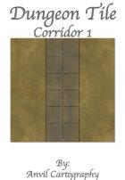 Dungeon Tile Corridor 1