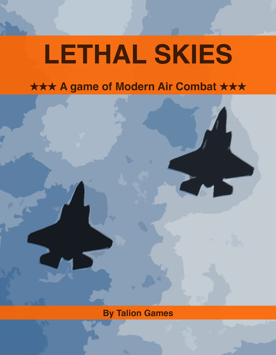Lethal Skies Rulebook Cover