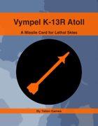 Vympel K-13R Atoll SARH
