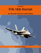 US Navy F/A-18A Hornet