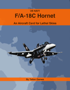 US Navy F/A-18C Hornet