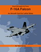 RNOAF F-16A Falcon