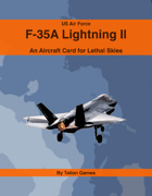 US Air Force F-35A Lightning II