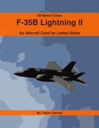 US Marine Corps F-35B Lightning II